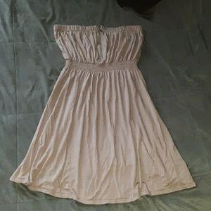 Gap women's M tan tube top summer dress